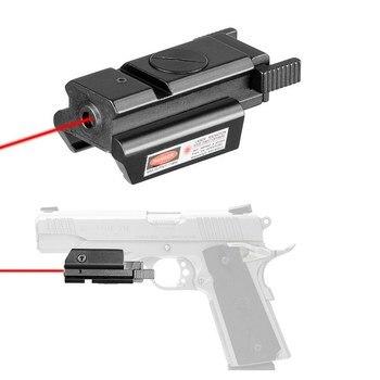 11mm/20mm Hunting Riflescope Tactical Red Dot Laser Sight Picatinny Weaver Rail for Pistol Glock Headgun Gun Red Dot Scope