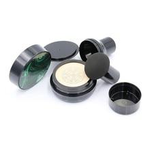 Paddestoel Hoofd Seal Bladerdeeg Lege Cc Bb Cream Luchtkussen Case Met Poederdons Voor Diy Refill Cosmetische Containers Cosmetische jar Set