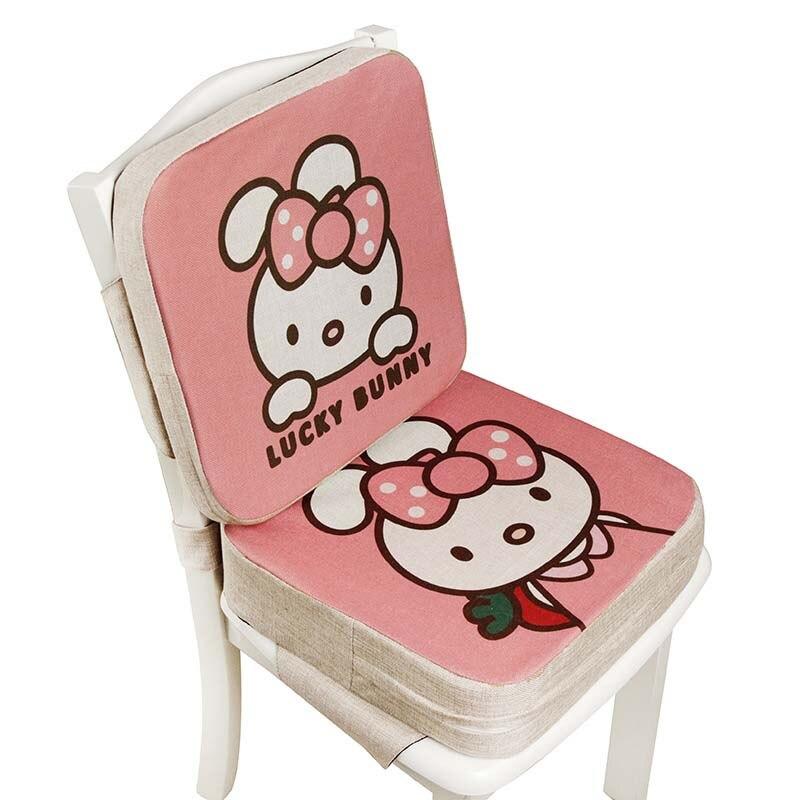 Baby Dining Chair Booster Cushion Cartoon Kids High Chair Seat Pad Chair Heightening Cushion Child Chair Seat Pram Chair Pad