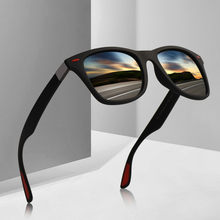 Design da marca novo homem mulher condução estilo quadrado óculos de sol ultraleve tr90 óculos polarizados óculos de sol óculos de sol uv400 gafas de sol 8083
