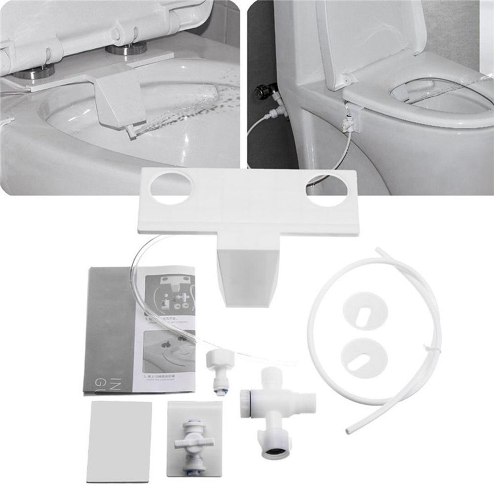 Non Electric Bathroom Kit Toilet Water Spray Toilet Seat Attachment Fresh Water Sprayer Seat Bidet Attachment Drop Shipping Bidets Aliexpress