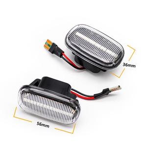 Image 2 - 2Pcs LED Dynamic Blinker Turn Signal Lights Side Marker Indicator Lamp For Toyota Corolla Camry Avensis Celica RAV4