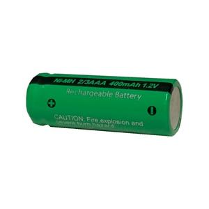 Image 5 - 10 sztuk 2/3 aaa bateria 400 mah 1.2 v nimh 2 3 akumulatory aaa płaskie góry na światło słoneczne zabawki