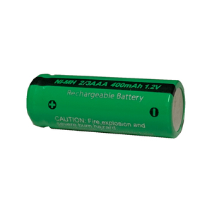 Image 5 - 10pcs 2/3 aaa  battery 400mah 1.2v nimh 2 3 aaa rechargeable batteries flat top for solar light toys