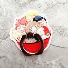 Anime mon héros académique Cosplay accessoires accessoires Midoriya Izuku Bakugou Todoroki rotatif support de téléphone portable anneau boucle