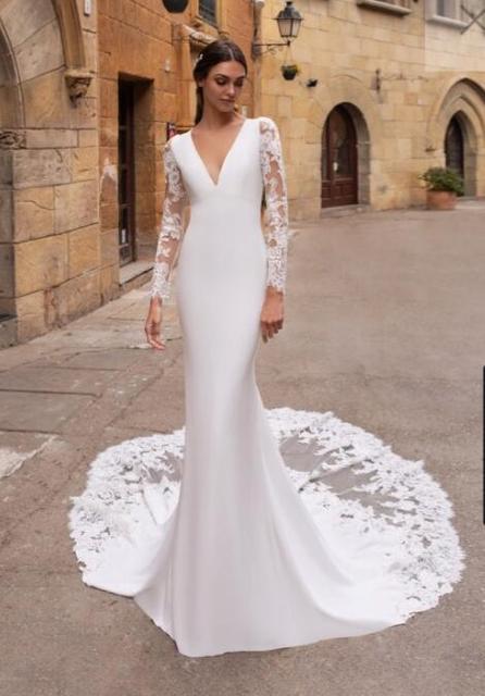Wulizane, enlace personalizado de vestidos de novia de acuerdo a la solicitud de Cutsomer, contáctanos
