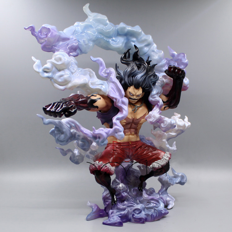 29CM New Japan Anime One Piece Sa Max Luffy Gear 4 snake man Action Figure Megahouse snakeman PVC Collection Toy Model B19