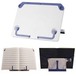 Bookend stojąca półka do czytania stojak na Tablet muzyczny składany statyw uchwyt Organizer do Dropshipping