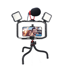 Универсальная портативная видеокамера для DSLR Gopro, видеокамера для iPhone XS 11 Pro Max X 8 Gopro 5 6 7 8 DSLR