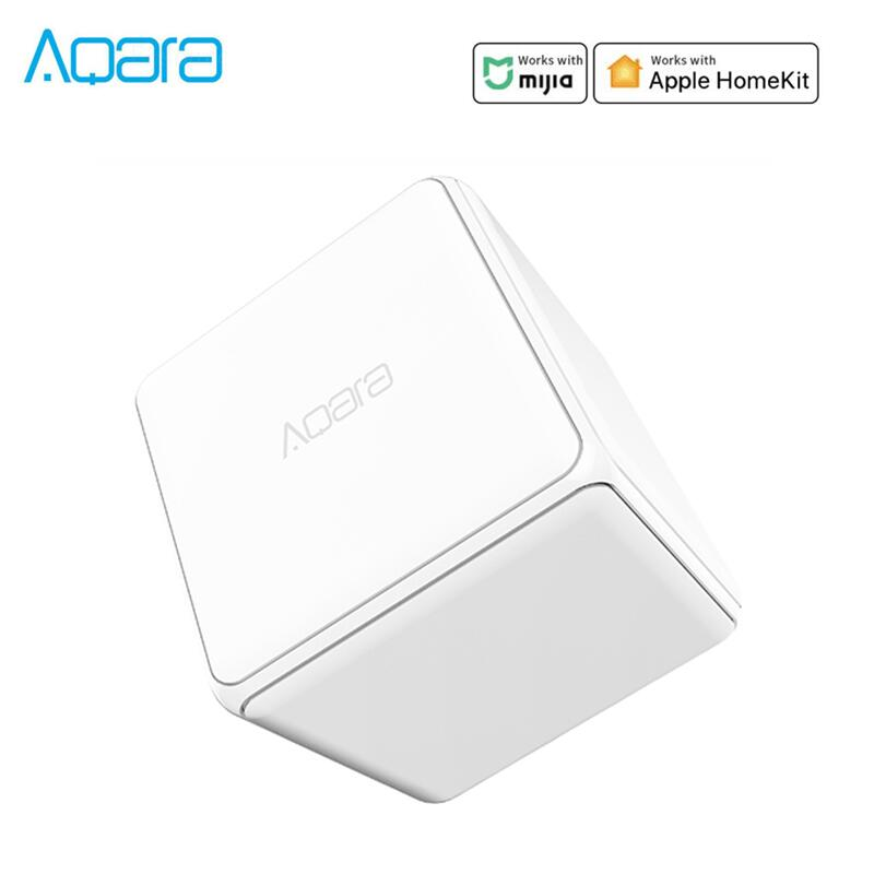 Aqara Magic Cube Controller Zigbee Version Controlled by Six Actions For Smart Home Device work with mijia mi home app