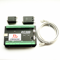 Mach3 Ethernet Control Card EC300 CNC router 3/4/5/6 Axis Motion Control Card Breakout Board for DIY milling machine