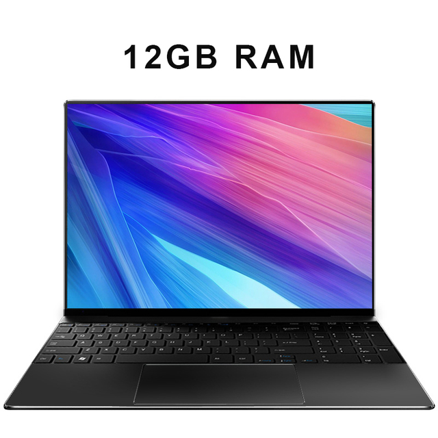 15.6 inch Laptop 8G RAM 1TB/512G/256G/128G SSD ROM Notebook Computer FHD IPS Screen Quad Core Gaming Laptops win10 2