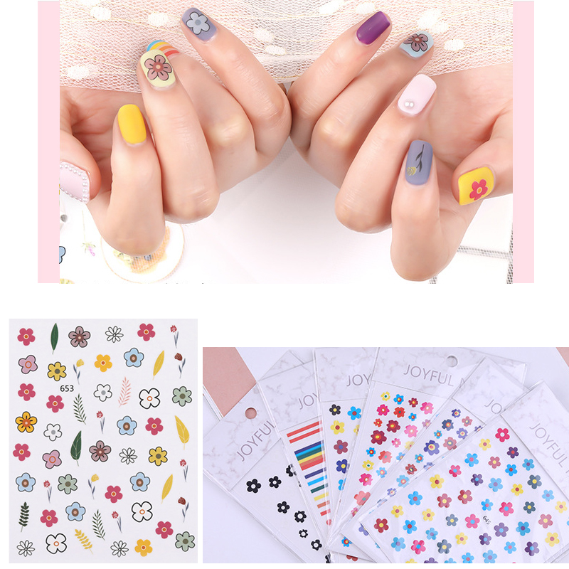 1ud Nail Sticker Art Decoration Designs Pegatinas Decoracion Uñas Decorations Nails Stickers Set Born Pretty Decals Decoraciones