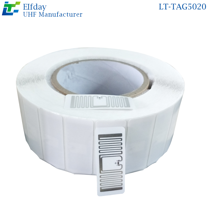 LT-TAG5020RFID Self-adhesive Label Unmanned Retail Label UHF Unmanned Supermarket Electronic Label U8 Chip New Retail