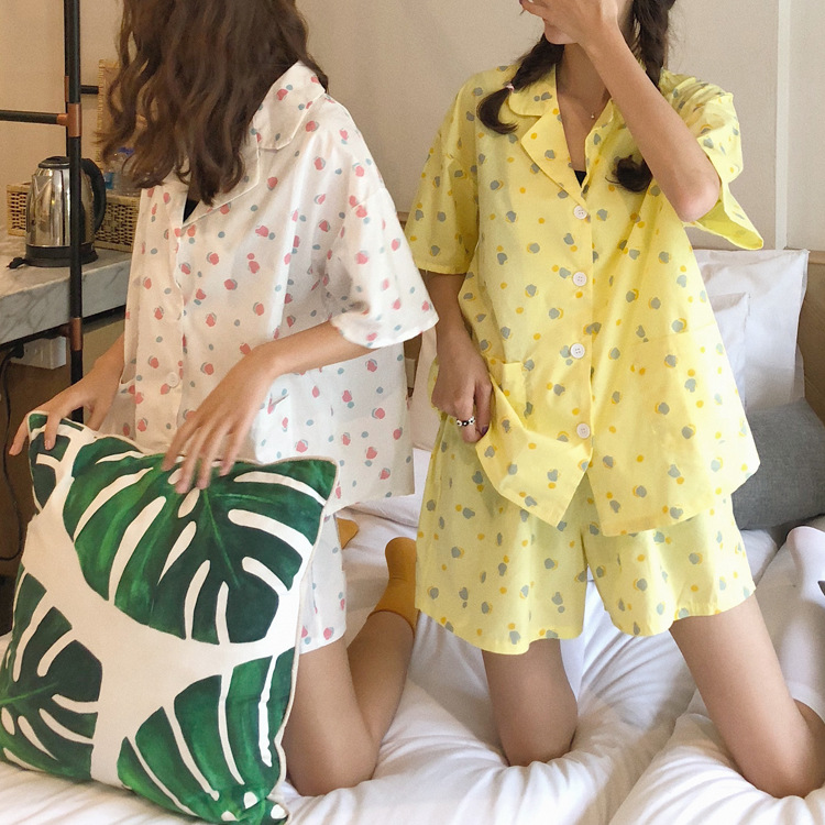Photo Shoot 2019 WOMEN'S Dress Summer INS Korean Series Funny GIRL'S Hipster Tracksuit Pajamas Suit