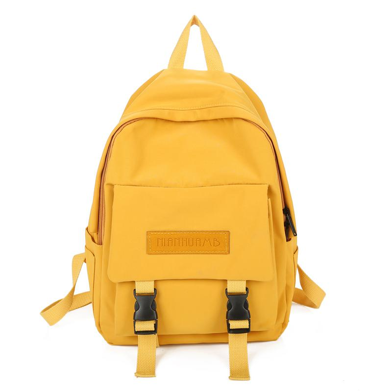 Harajuku Fashion Girls Backpack Famous Brand High School College Student Letter Backpack Youth Travel Laptop Backpack Mochila image