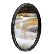 Filtro de lente de cámara ND2 a ND1000 ND para canon sony nikon photo 18 200 24 105 d600 d80 d5100 52mm 55mm 58mm 67mm 77mm