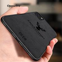 Etui na telefon iPhone 12 11 Pro X XR XS MAX Ultra cienka tkanina płótno tłoczone jelenie Capinhas dla iPhone 8 7 6 6S miękka TPU Coques tanie tanio CN (pochodzenie) Pół-owinięte Przypadku For iPhone 12 11 X 10 XS XR XS MAX 8 7 6s 6 Plus Case Zwykły Przezroczysty Phone Bag Case For iPhone 8 7 6 6s Plus For iPhone X XS XR Capinhas