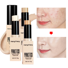 Face Full Cover Contour Concealer Stick Foundation 3 Colors Moisturizer Dark Eye Circle Hide Blemish Bronzer Facial Base Makeup face full cover contour concealer stick foundation 3 colors moisturizer dark eye circle hide blemish bronzer facial base makeup