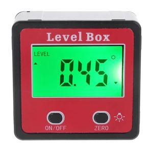 Цифровой Инклинометр, спиртовой уровень, транспортир, измеритель углов, конический уровень, коробка с магнитом