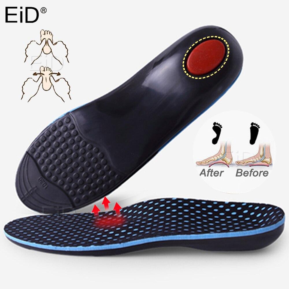 EID Children Orthopedic Insoles Arch Support Orthopedic Insole Flat Feet Orthotic Shoe Sole for XO-Legs Corrector Kid Insert