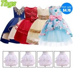 Bebê menina vestido de princesa para festa de casamento com decote em v tutu vestido para crianças menina criança traje de natal