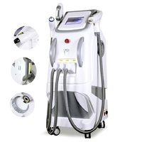 3 in 1 Opt Elastic Lace IPL Hair Removal Tattoo Removal Machine Nd Yag Laser