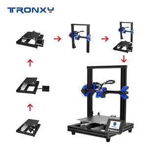 Image 2 - TRONXY 3D Printer XY 2 PRO 3D Printer Large Size I3 255*255 Hotbed V slot Resume Power Failure Printing FDM printing 3D Drucker
