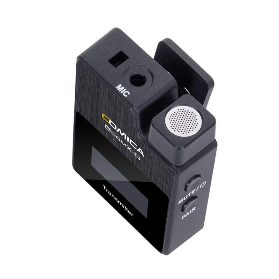 Top SaleComica Microphone-Transmitter-Kit Boomx-D Fimi Vmate Digital Plam/snoppa Wireless Mini