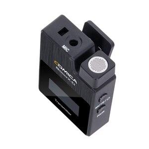 Image 4 - Comica BoomX D kablosuz mikrofon verici kiti Mini mikrofon alıcısı 2.4G dijital Fimi plam/Snoppa vmate