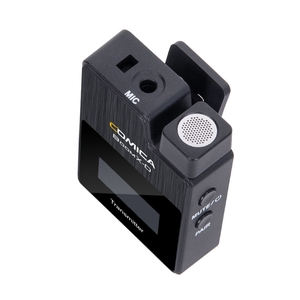 Image 4 - Comica Kit de transmisor de micrófono inalámbrico boomx d, Mini receptor de micrófono, 2,4G, Digital, para Fimi plam/Snoppa vmate