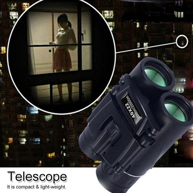 Telescopio da caccia professionale Zoom militare HD 40x22 binocolo visione di alta qualità nessun oculare a infrarossi regali allaperto