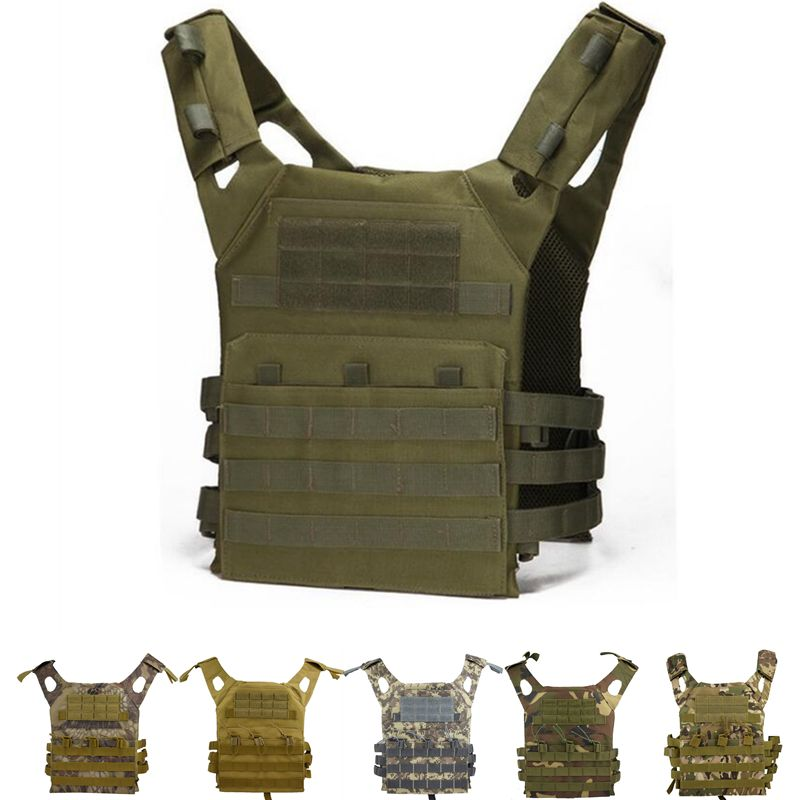 Tactical Equipment JPC Molle Hunting Vest Airsoft Paintball Protection Vest Plate Carrier Vest Military Gear Body Armor