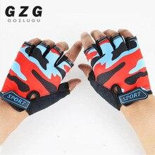 Breathable Gloves Fingerless Non-Slip Ultrathin Children New Boys for Girls Luvas-De-Inverno