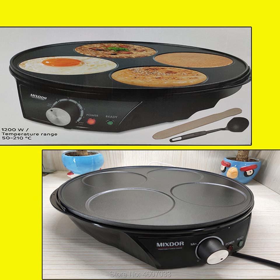 Electric Pancake Maker Crepe Baking Kitchen Tools Spring Roll Egg EU US Machine