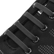 16Pcs/Set Silicone Elastic Shoelaces Special No Tie Shoelace Lacing Kids Adult Sneakers Quick Shoe Lace Rubber Zapatillas