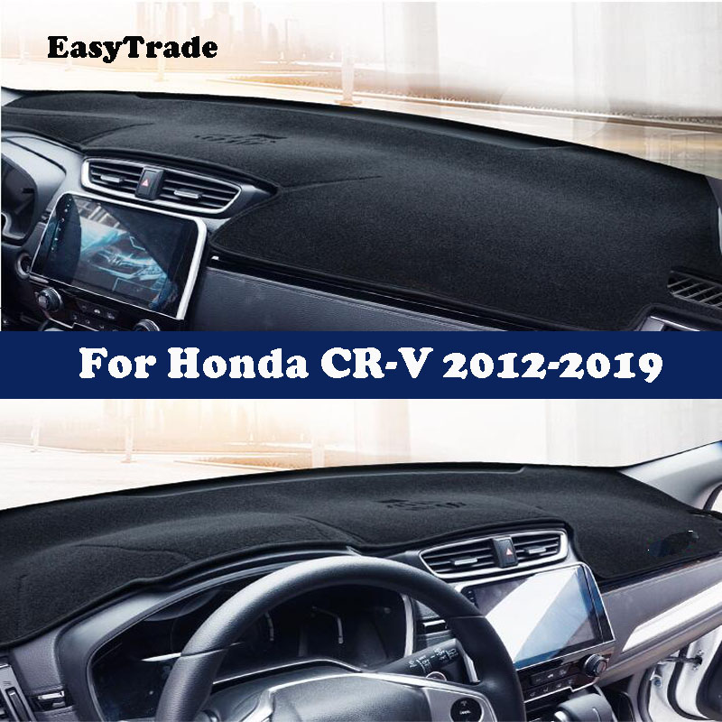 Car Dashboard Dash Mat DashMat Sun Cover Pad Red For Honda CRV CR-V 2012-2016