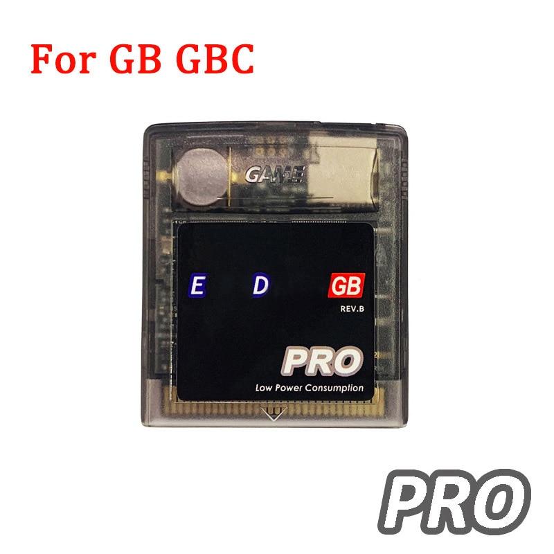 Cartucho de juego EDGB Pro Card para Gameboy GB GBC DMG consola de juegos Everdrive EDGB Pro ahorro de energía tarjeta tipo cartucho de juego