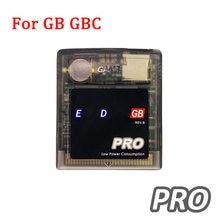 Cartucho de jogo EDGB Cartão Pro para Everdrive Gameboy GB GBC Game Console DMG EDGB Pro Cartucho de Jogo de Cartão de Poupança de Energia