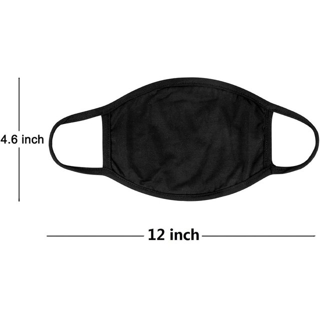 1/10PCS Dust PM 2.5 Filter Face Masks Replaceable Face Mouth Cover Masks Washable Reusable Dust Masks WITH POCKET 5