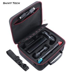 Image 3 - Большая сумка для переноски Nintendo switch, защитные аксессуары из ЭВА, жесткий чехол для путешествий, чехол для консоли Nintendo Switch