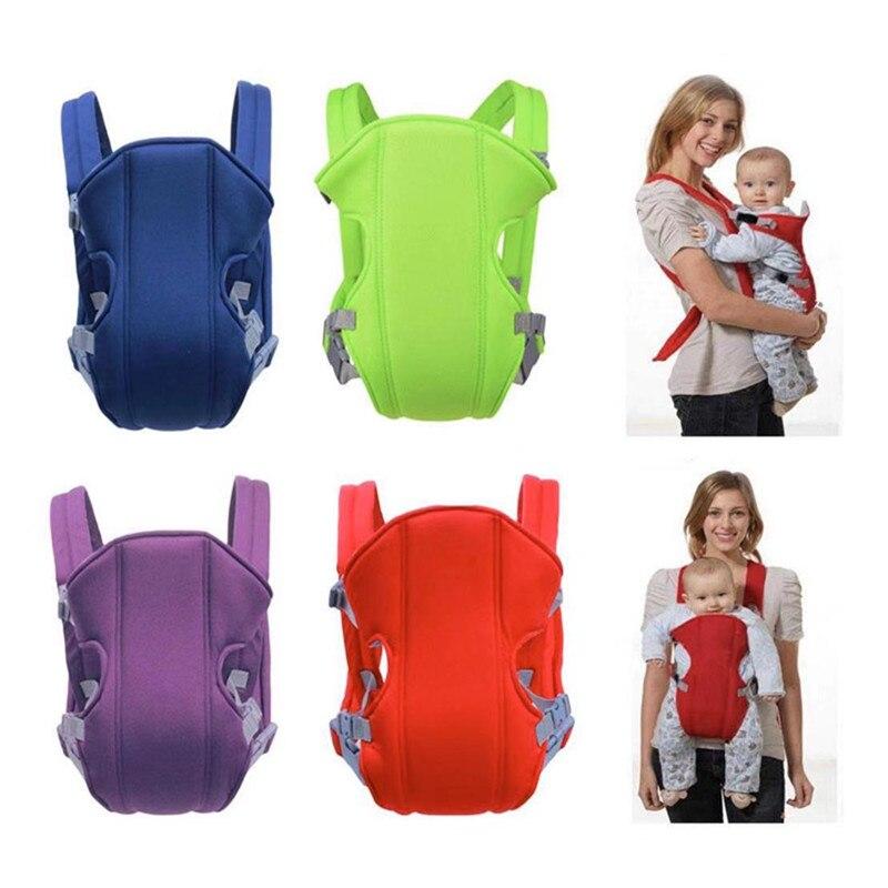 Infant Baby Adjustable Breathable Carrier Comfort Backpack Strap Buckle Sling Seat Bag 3-16m
