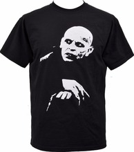 Mens Black T Shirt Nosferatu Vampire Classic Hammer Horror Cult Goth Punk S 3Xl Casual Short Sleeve Tshirt Novelty