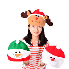 Children Adult Cartoon bt21-bts Christmas Gifts For Christmas Products Santa Claus Ornaments Santa Hat Decorations #45(China)