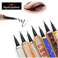 Magic Self Adhesive Lashes Eyeliner Long Lasting No Glue Non Blooming Quick Drying Eyelashes Sticking Eye liner Pencil 6 color