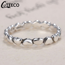 2019 New 4mm Heart To Pan Finger Ring Smooth Surface Cheap Rings Women Wedding Jewelry Size 5 6 7 8 9 Wholesale