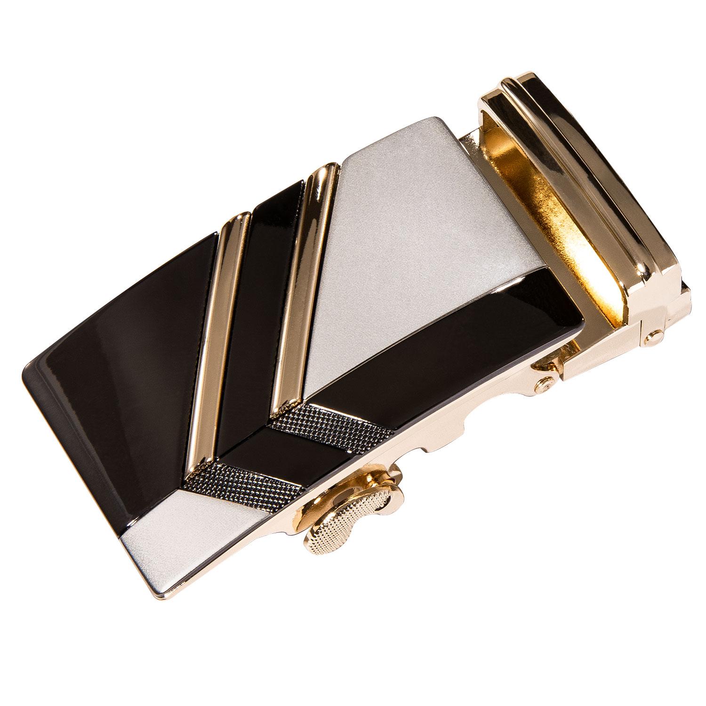 Luxury Brand Designer Belts Metal Automatic Buckle For 3.5cm Width Ratchet Leather Belt Buckle Automatic Belt Buckle DiBanGu