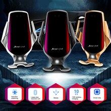10W Car Wireless Charger Car Phone Holder Smart Sensor Quick
