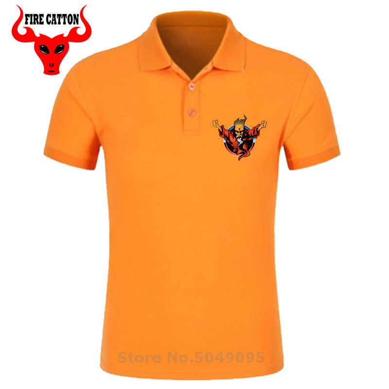 New Design Concert   Polo   Shirts men cotton Thunderdome Hardcore   polo   shirt Wizard shirt Adult Techno & Gabber thunderdome clothes