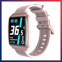 Умные часы температуры тела измерение пульса кровяного давления мониторинг информации напоминают шаг счетчик калорий ноутбу